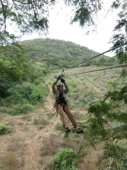"""Zip Lining at Huana Coa Canopy Adventure near Mazatlan"""