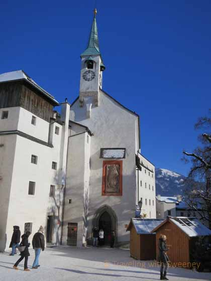 """St. George's Chapel in Hohensalzburg  courtyard"""
