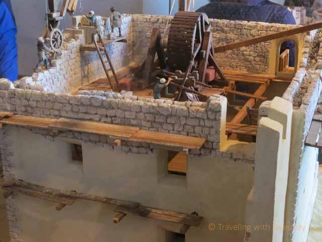 """Model of old Hohensalzburg Fortress"""