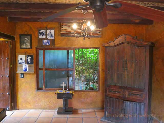 """""""One of the rooms where artifacts are displayed at El Meson de los Laureanos in El Quelite, Mexico near Mazatlan"""""""