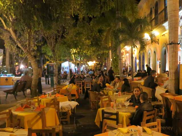 """""""Outdoor Dining in Old Town at Pedro y Lola"""""""