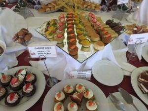 """""""Dessert Table at Pueblo Bonito Emerald Bay Sunday Brunch"""""""