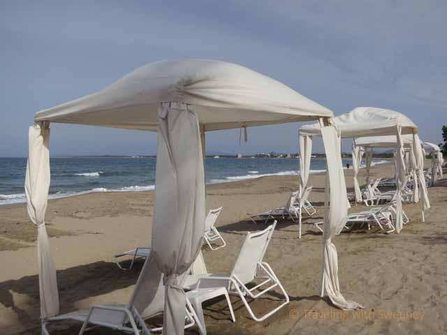 """""""Cabanas on the beach at Pueblo Bonito Resort at Emerald Bay in Nuevo Mazatlan"""""""