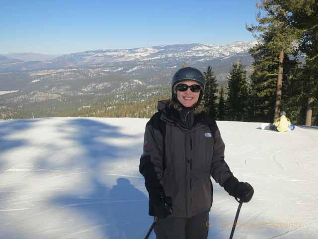 """""""A good day skiing at North Lake Tahoe, California"""""""