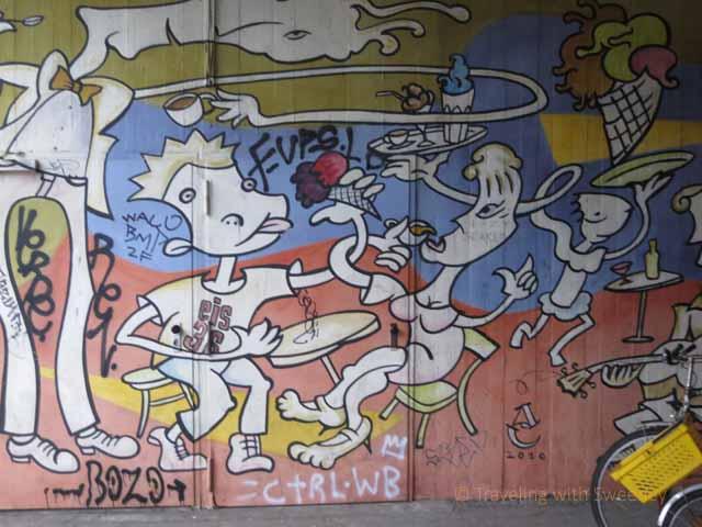 """Street art seen on Context Travel walking tour of Berlin's Kreuzberg neighborhood"""