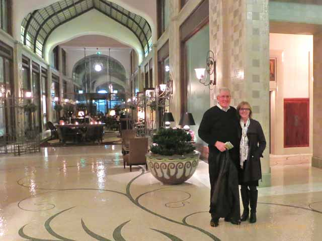 """Lobby of Four Seasons Gresham Palace, Budapest"""