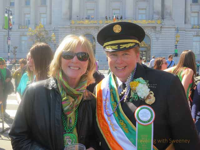 """San Francisco Fire Department Chief, Joanne Hayes-White was the Grand Marshal of the parade"""