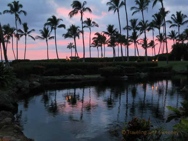 """Maui sunset at Grand Wailea Resort"""