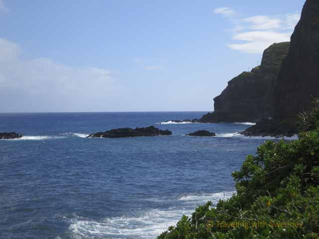 """Rocky coastline on Maui"""