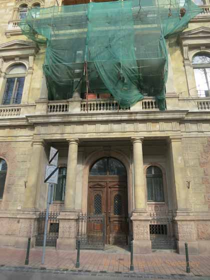 """Building renovation in Budapest District 8, Palce District"""