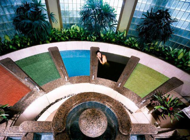 """Hawaiian salt baths at Spa Grande, Maui"""