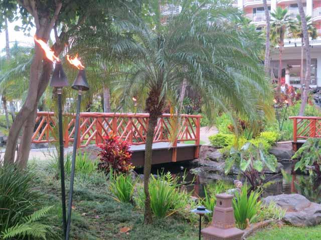 """""""Bridge on the walkway at Grand Wailea Resort, Maui"""""""