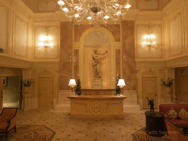 """Lobby of Spa Grande at the Grand Wailea, a Waldorf Astoria Resort, Maui"""