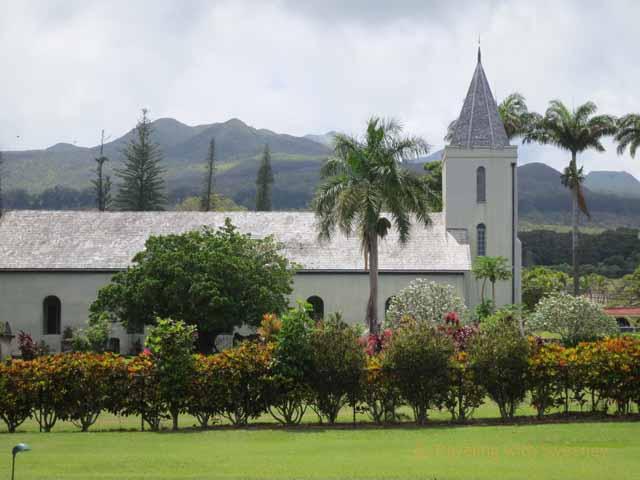 """Church adjacent to Travaasa Hana property"""