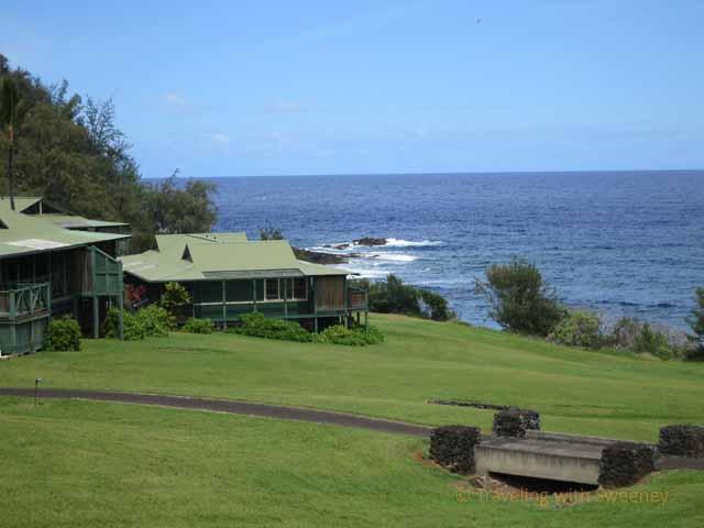 """""""View from a sea ranch cottage at Travaasa Hana, Maui"""""""