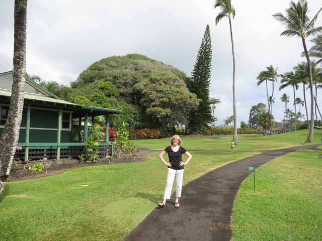 """""""Path along the sea ranch cottages at Travaasa Hana, a Maui resort"""""""