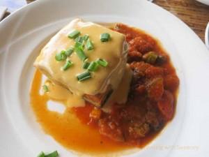"""Molokai Sweet Potato Egg Frittata at Sea House Restaurant at Napili Kai Beach Resort, Maui"""