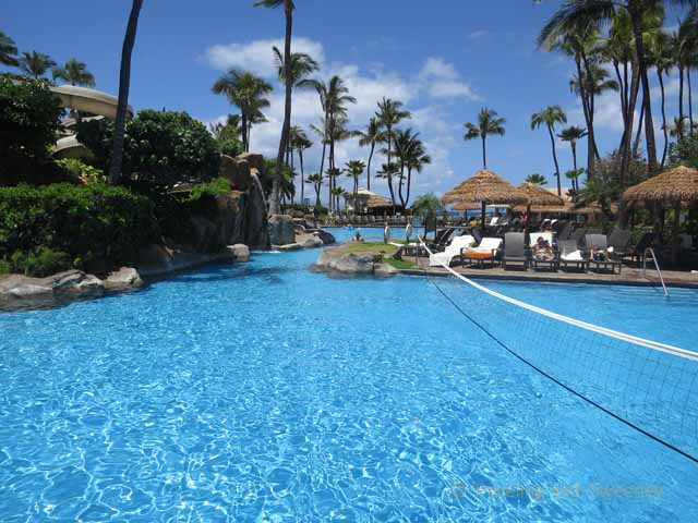 """One of the five pools at Westin Maui"""