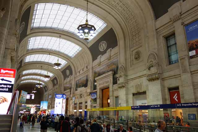 """Along the busy corridors of Canopy designed by Alberto Fava at Milano Stazione Centrale"""