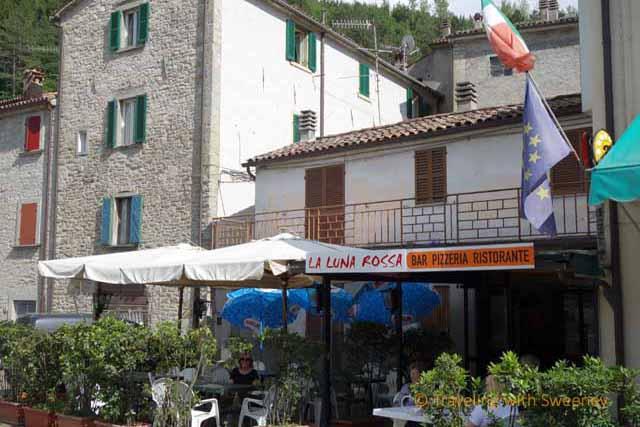 """""""La Luna Rossa, a ristorante in Tredozio, Italy"""""""