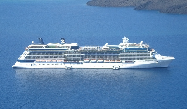 """Celebrity Equinox at port in Barcelona"""
