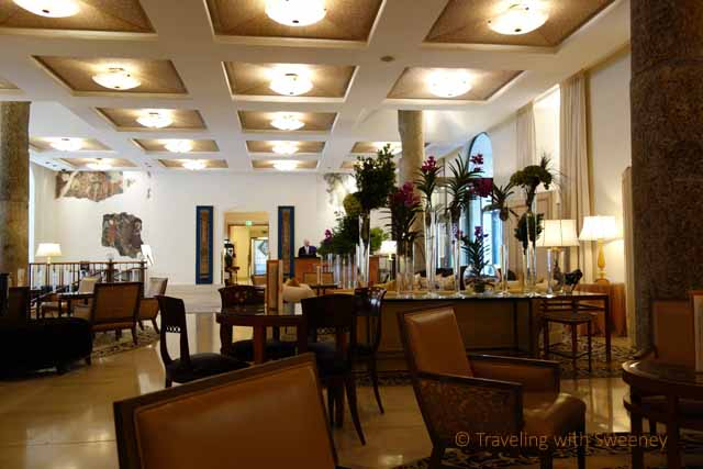 """""""Il Foyer lounge and lobby at Four Seasons Milan"""""""