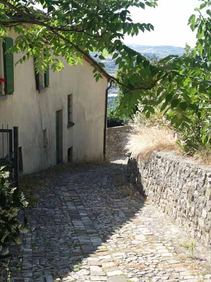 """""""Walk down Via Borgo Sant'Antonio, Verucchio"""""""