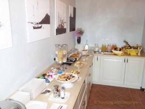 """""""Breakfast buffet at Le Case Antiche, Il Casale della'Arte in Verucchio"""""""