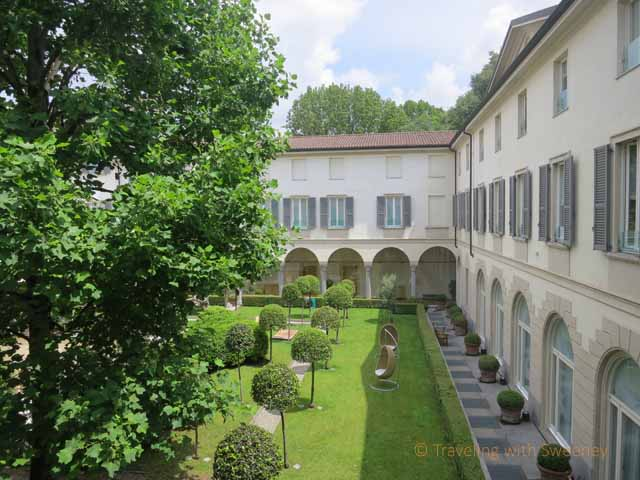 """""""Lovely courtyard view from room at the Four Seasons, Milan"""""""