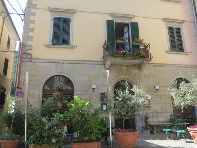 """""""Main hotel building at Al Vecchio Convento, Portico di Romagna"""""""