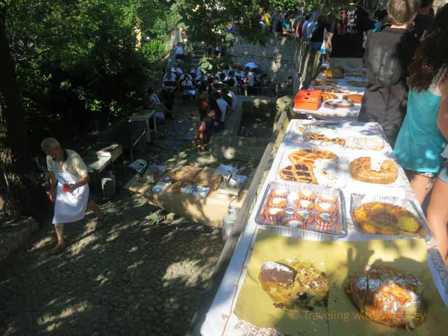 """""""Baked goods at Festa al Lavetoio Borgo S. Antonio. Verucchio"""""""