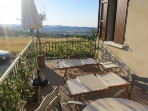 """Deck to our suite at Le Case Antiche, Il Casale dell'Arte """