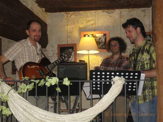 """""""Jazz trio at Tipicità Italiane in Verucchio, Italy"""""""