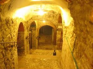 """""""Cave wine cellar at Al Mastin Veccio, Verucchio"""""""