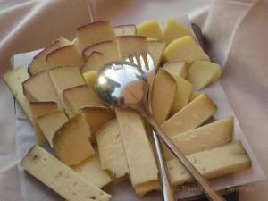 """""""Cheese plate at al Mastin Vecchio, Verucchio, Italy"""""""