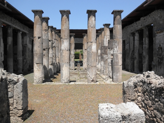 """Pillars of Pompeii"""