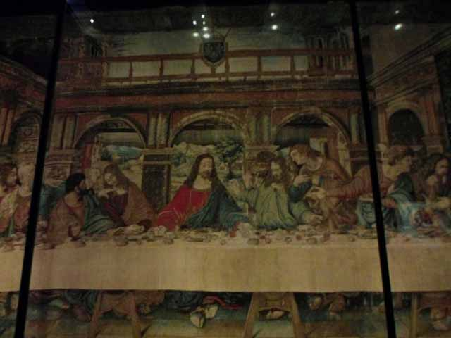 """Tapestry of the Last Supper"""