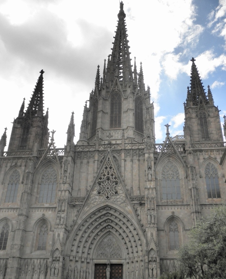 """""""Barcelona Cathedral exterior"""""""