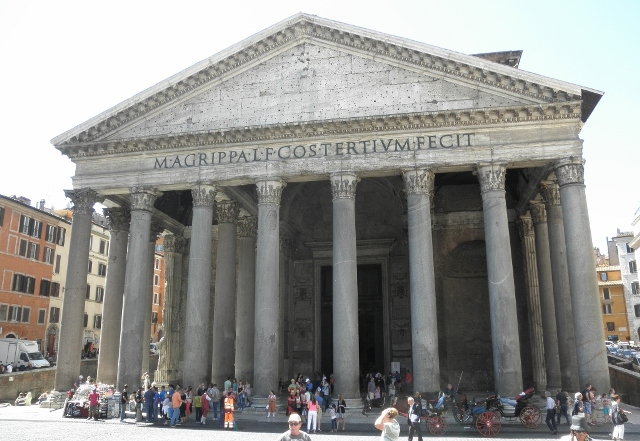 """The Pantheon in Rome, Italy"""