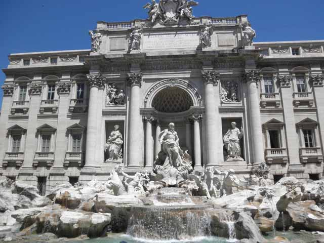 """The Trevi Fountain, Rome"""
