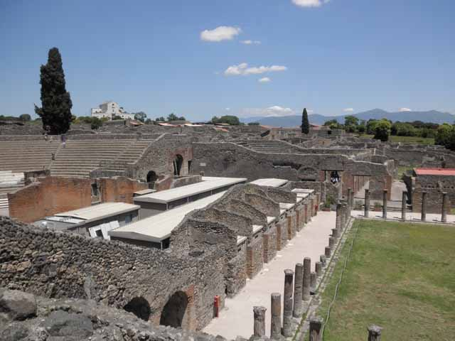 """Vast expanse of Pompeii, Italy"""
