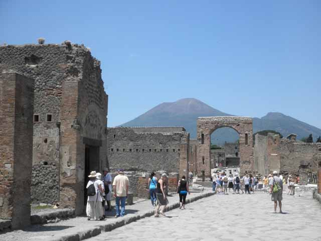 """Walking in Pompeii"""