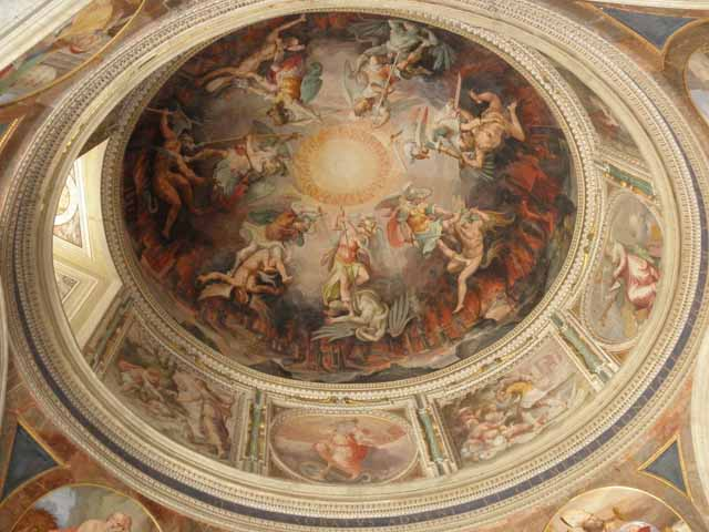 """Dome of Sistine Chapel"""