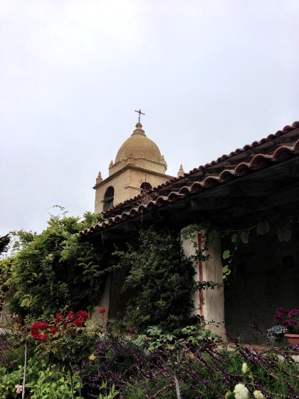 """Mission San Carlos Borromeo del Rio Carmelo, mission is Carmel, California"""