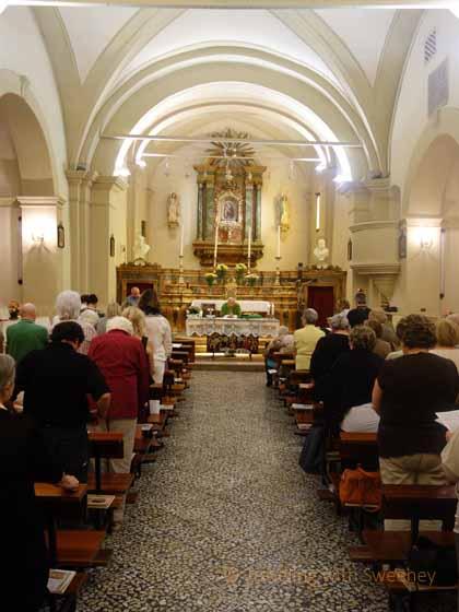 """""""Special mass for Portico in Arte at Chiesa della Compangnia, Portico di Romagna"""""""