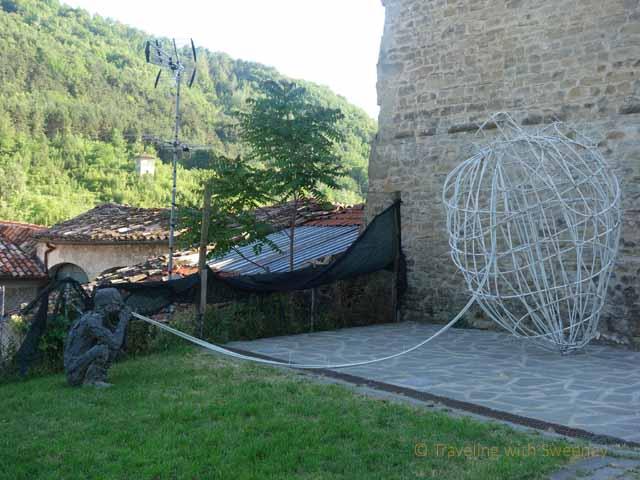 """""""Installation of Synapse by Erich Turroni at Portico in Arte festival in Protico di Romagna, Italy on June 15, 2013"""""""
