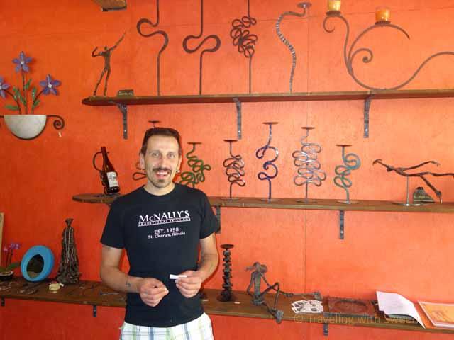 """Village blacksmith of Portico di Romagna, Italy"""""""