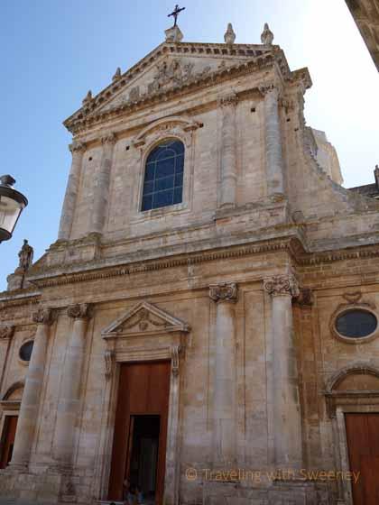 """""""Exterior facade of Chiesa Madre di San Giorgio, Locorotondo"""""""