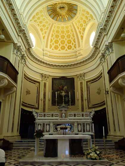 """""""Altar in Chiesa Madre di San Giorgio in Locorotono, Italy"""""""