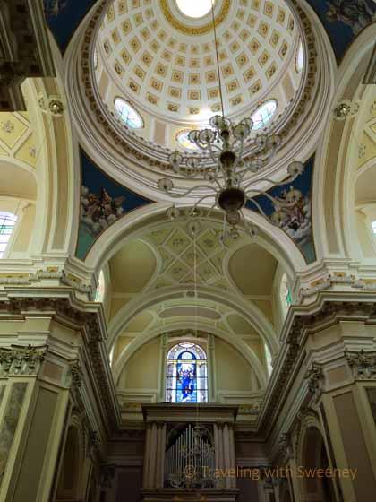 """Stunning dome and canopy in Chiesa di San Giorgio"""